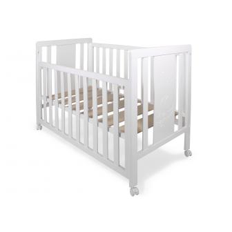 """Детско легло бяло- """"moonet"""" Inter Baby 18367"""