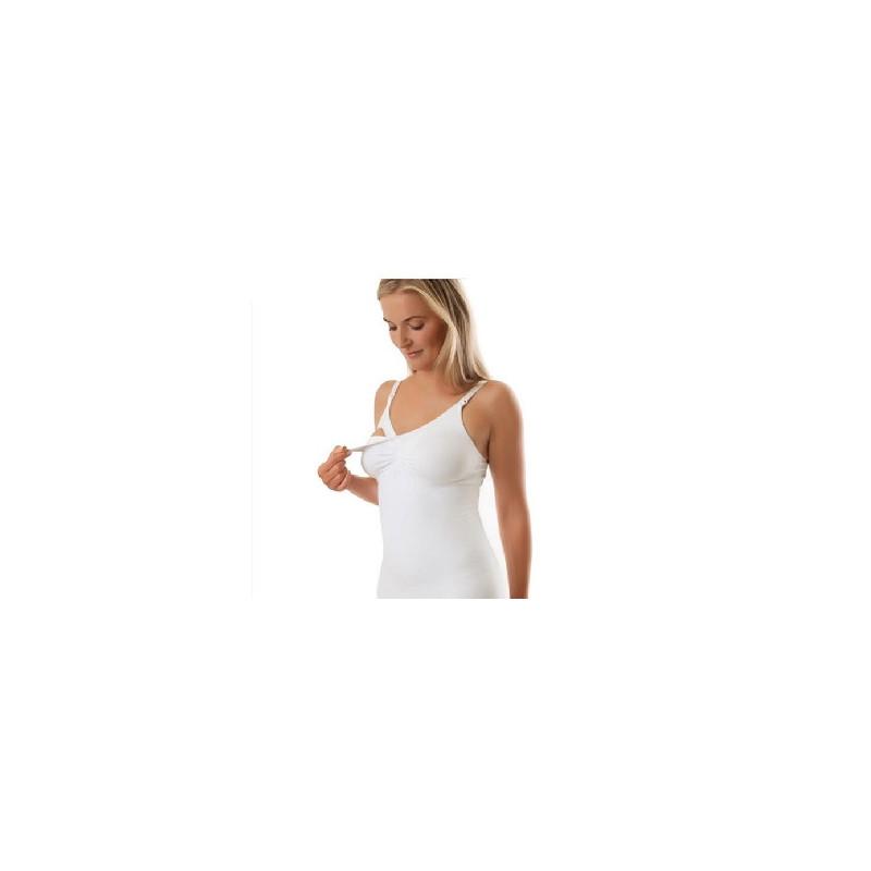 Бюстие за бременни и майки бяло  19050