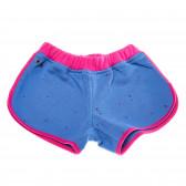 Памучни къси панталони за момиче COSY REBELS 19399