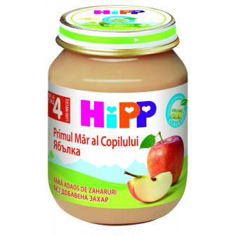 Био пюре от ябълки, 3-5 месеца, бурканче 125 гр. Hipp 19595