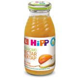 Био нектар от кайсии и круши, 3-5 месеца, стъклена бутилка 200 мл. Hipp 19636