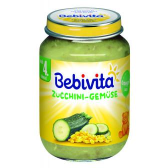 Пюре от тиквички със зеленчуци, 3-5 месеца, бурканче 190 гр. Bebivita 19643