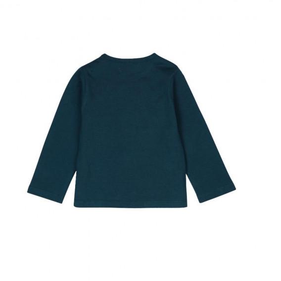 Блуза светеща в тъмното с дълъг ръкав за бебе момиче Boboli 197 2