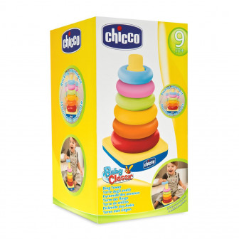 Цветна пирамида с рингове Chicco 19704