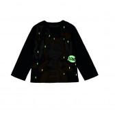 Блуза светеща в тъмното с дълъг ръкав за бебе момиче Boboli 198 3