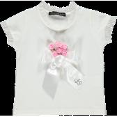 Блуза с къс ръкав за момиче Picolla Speranza 20436