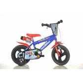 """Детско колело с помощни колела """"отмъстителите"""" Dino Bikes 20705"""