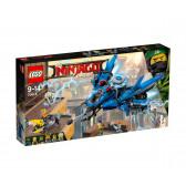 Лего нинджаго - светкавичен самолет 70614 Lego 20801
