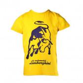 Памучна тениска за момче Lamborghini 20869