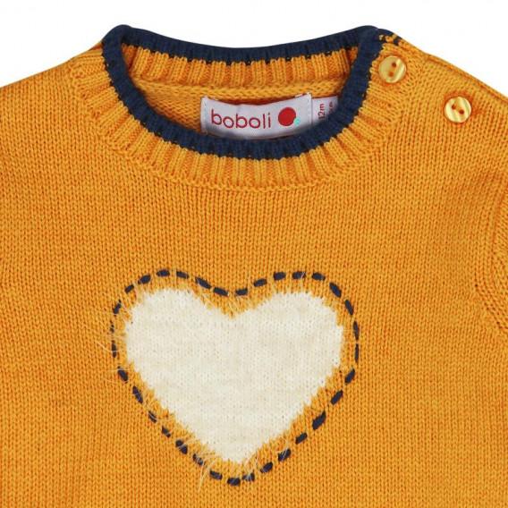 Рокля с дълъг ръкав за бебе Boboli 213 3