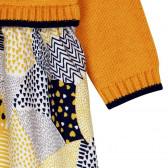Рокля с дълъг ръкав за бебе Boboli 214 4