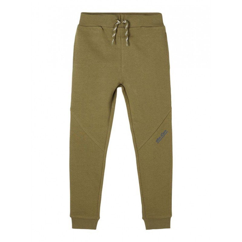 Панталон от органичен памук, зелен  218367