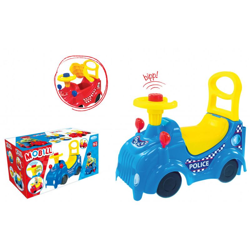 Буталка количка със седалка и кормило в син цвят  2282