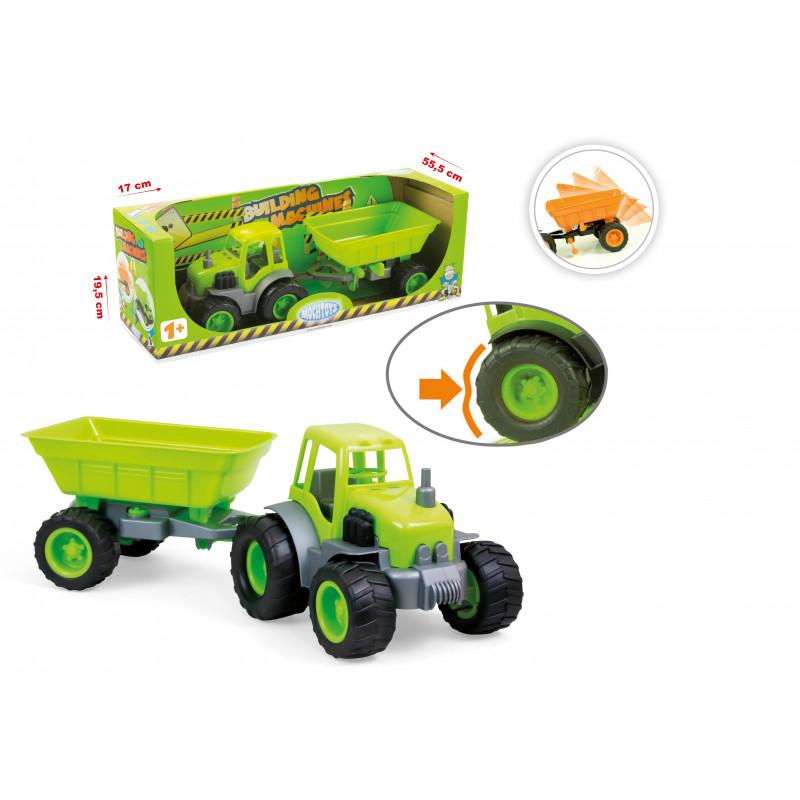 Трактор с ремарке  2295