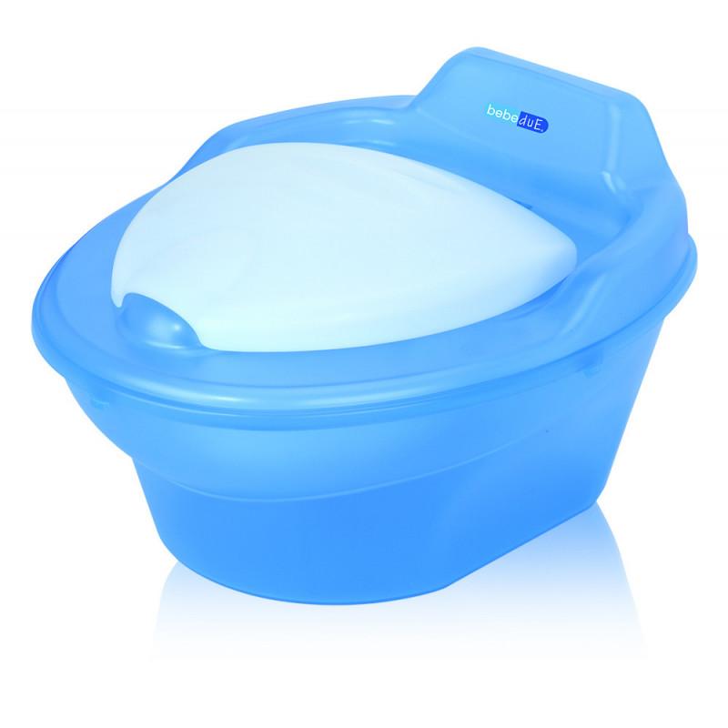 Бебешко гърне, с подвижен контейнер, синьо  22979
