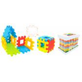 Големи блокове за сглобяване 39х39 см Mochtoys 2305