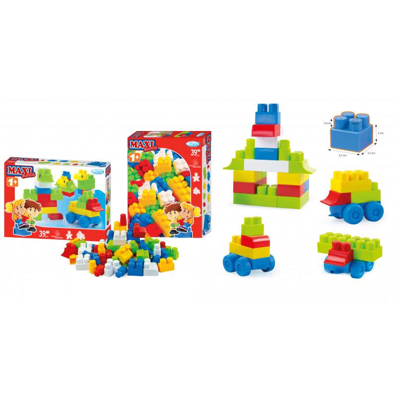 Конструктор с различни блокчета 39  2307