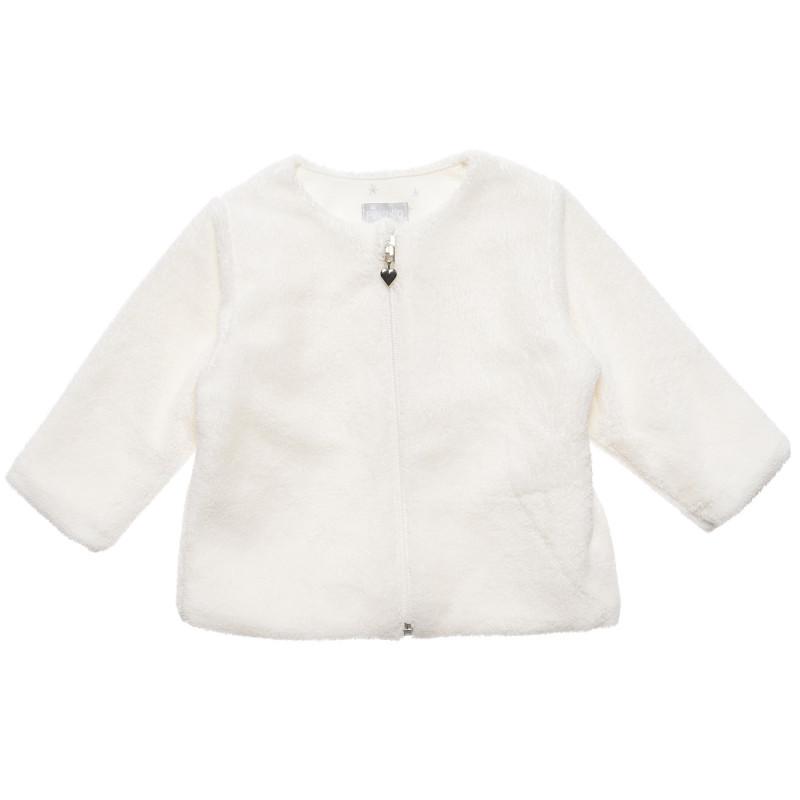 Плюшен суитшърт с дълъг ръкав за бебе момиче  231976