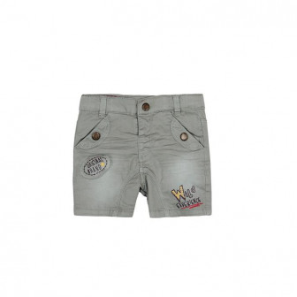 Къси памучни панталони за бебе момче Boboli 23226