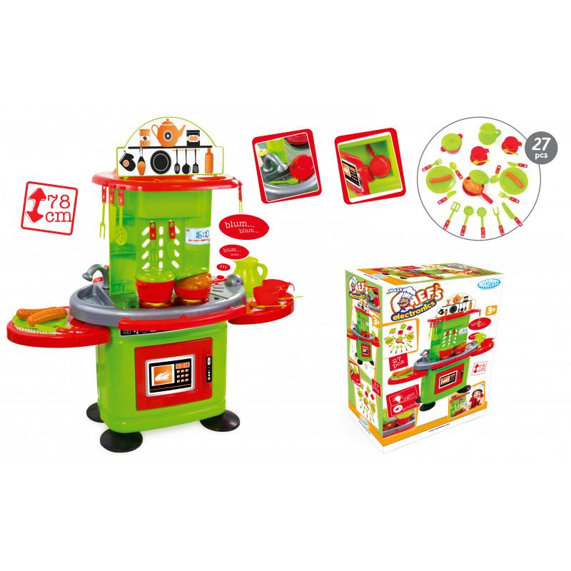 Детски кухненски сет- 78 см със звук и светлина  2325