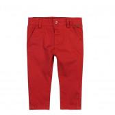 Памучен панталон за бебе момче Boboli 23252