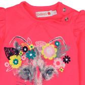Блуза с дълъг ръкав за момиче Boboli 233 3