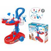 Комплект количка с медицински инструменти Mochtoys 2330