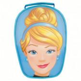 Термоизолираща чанта в лещовидна форма с картинка cinderella face Stor 23363