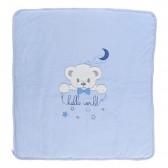 Плюшено одеяло порт за бебе момче Bebetto 2345