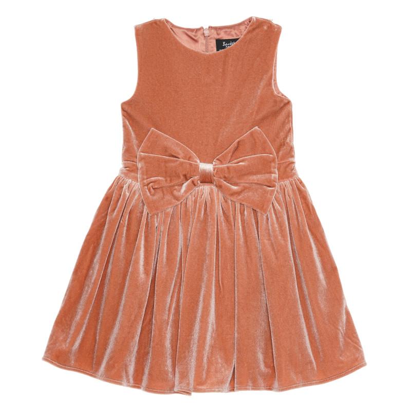 Кадифена рокля без ръкав  235522