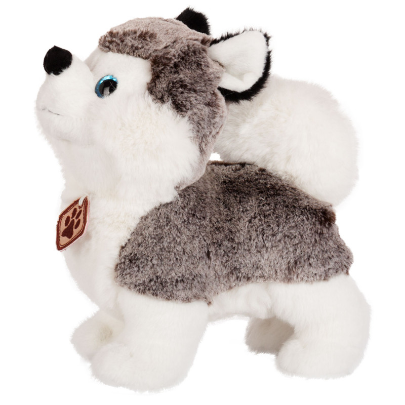 Плюшена играчка Хъски със сини очи, 25 см.  243789