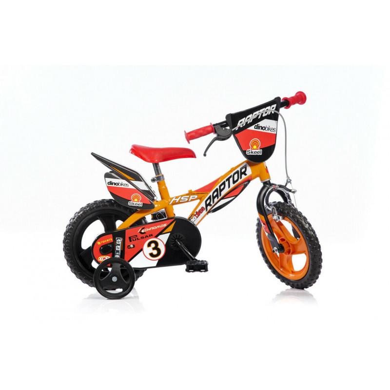 """Детски велосипед Raptor 12"""", оранжев  243838"""