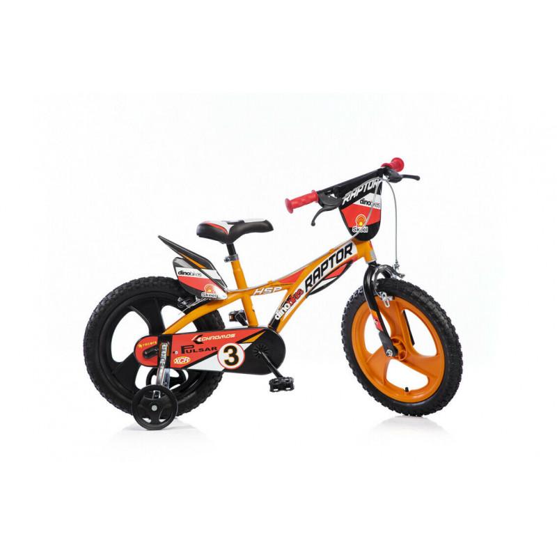 """Детски велосипед Raptor 14"""", оранжев  243839"""