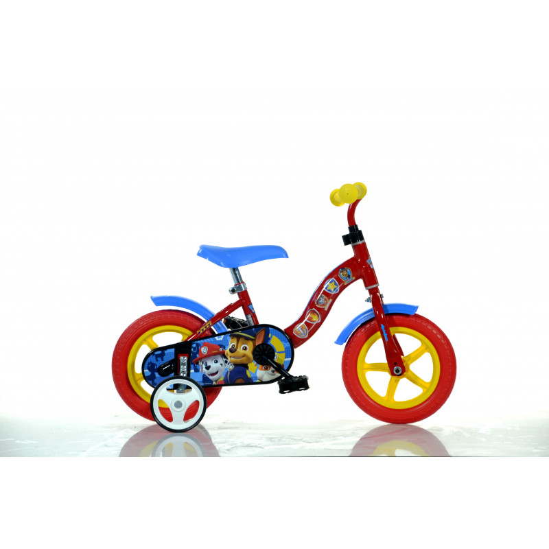 "Детски велосипед Paw patrol 10"", червен  243840"