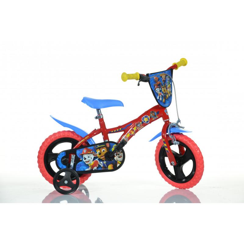 "Детски велосипед Paw patrol 12"", червен  243841"