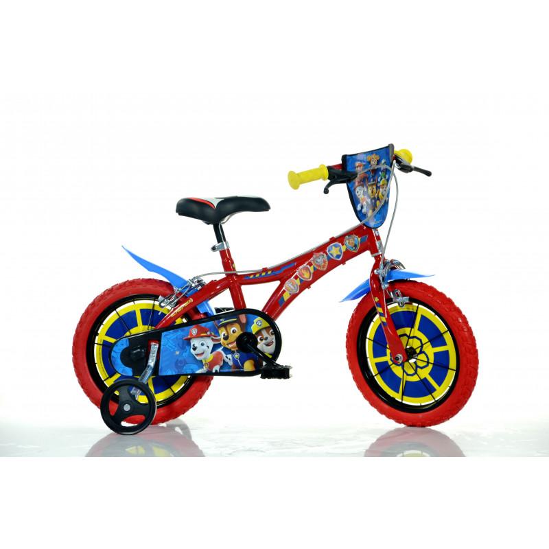"Детски велосипед Paw patrol 14"", червен  243842"