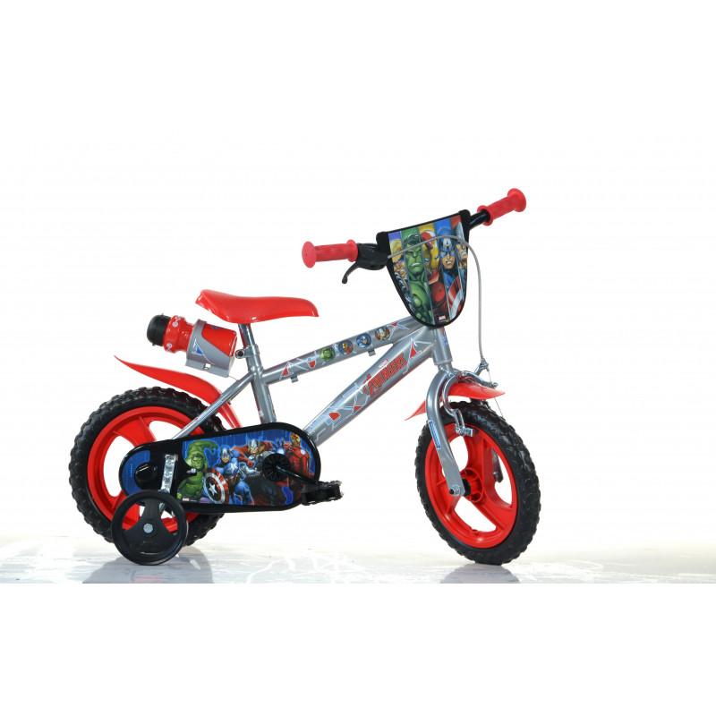 "Детски велосипед Avengers 12"", сив  243844"