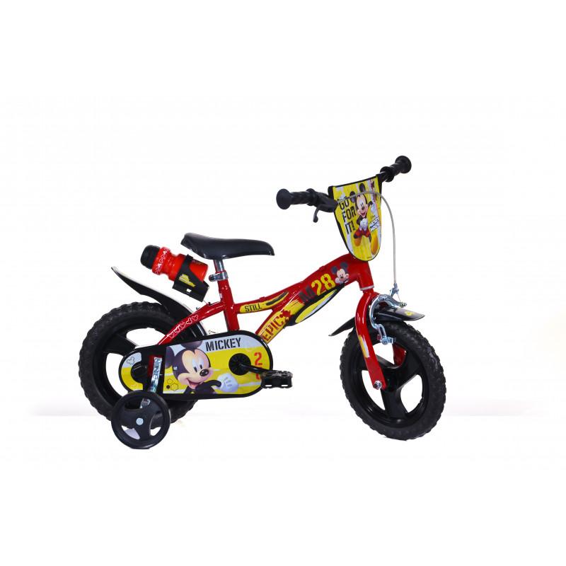 """Детски велосипед Mickey Mouse 12"""", черен  243845"""