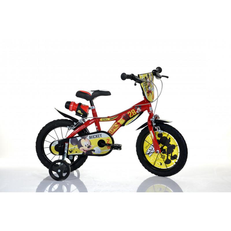 """Детски велосипед Mickey Mouse 14"""", черен  243846"""