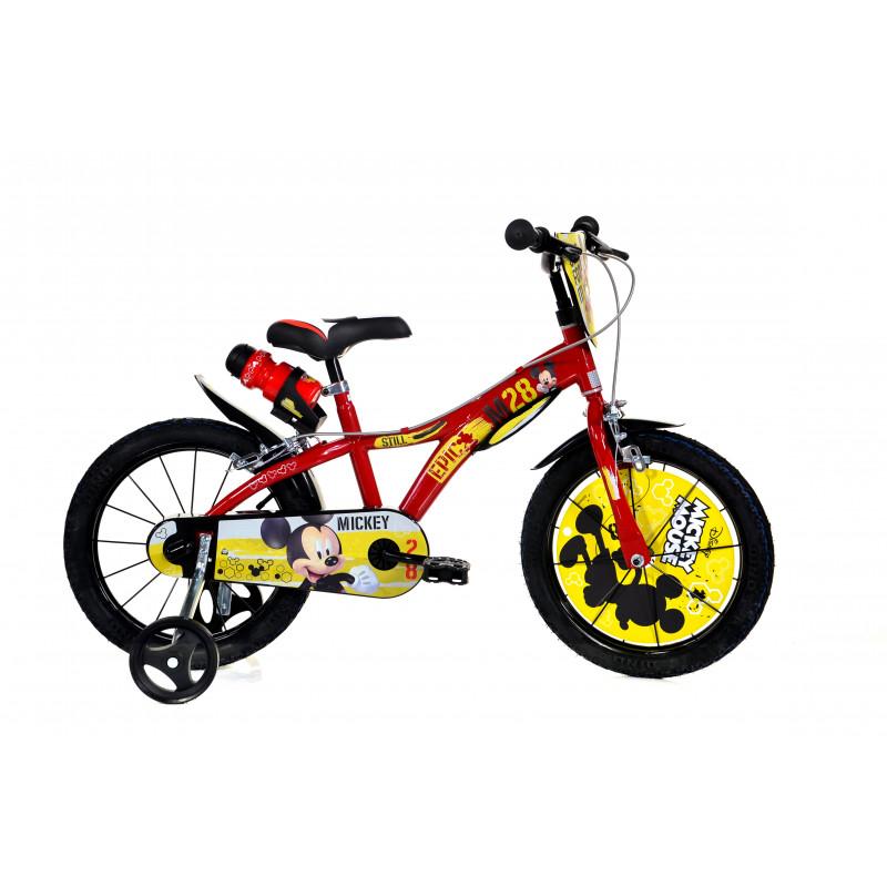"""Детски велосипед Mickey Mouse 16"""", черен  243848"""