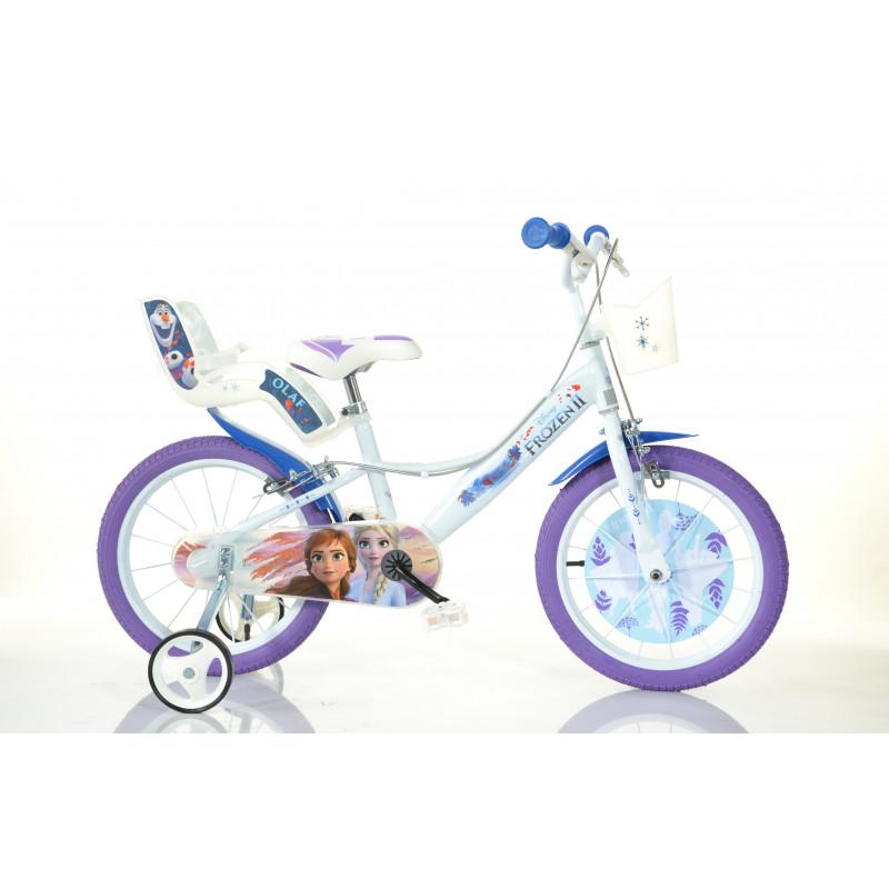 """Детски велосипед Frozen 3 14"""", бял  243849"""