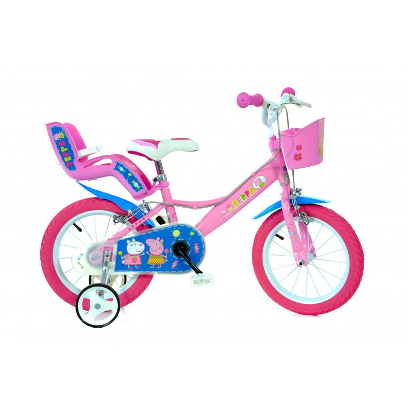 "Детски велосипед Peppa pig 14"", розов  243863"