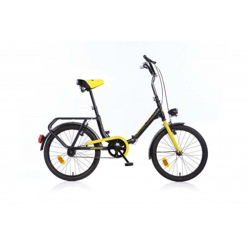Сгъваем велосипед 20, черен  243864