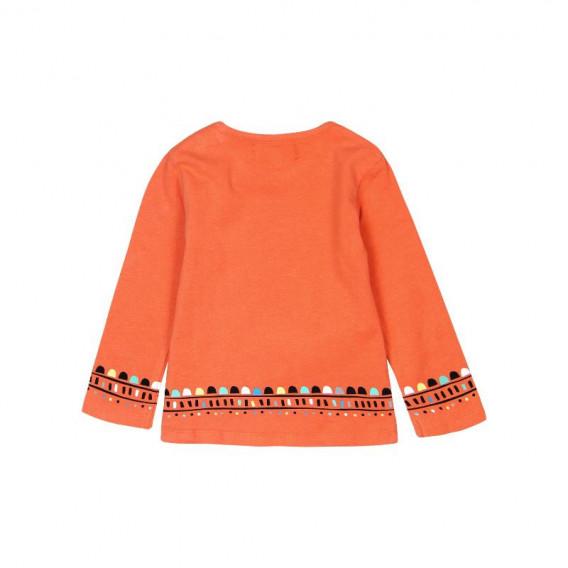Блуза с дълъг ръкав за момиче Boboli 244 2