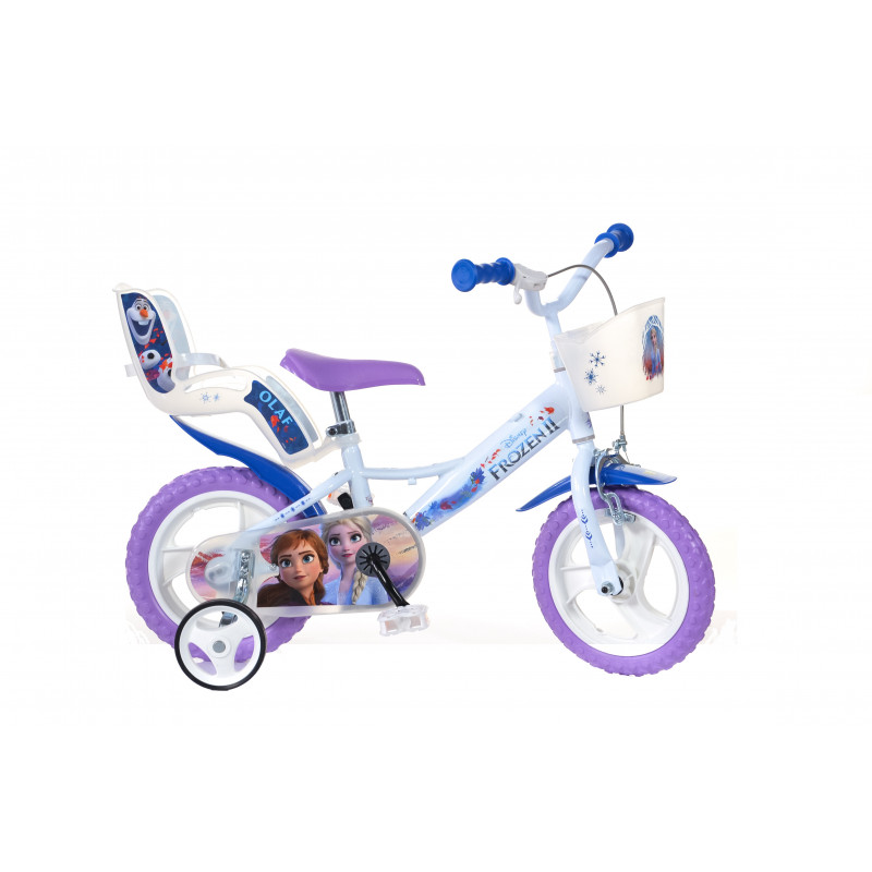 """Детски велосипед Frozen 3 12"""", бял  244369"""