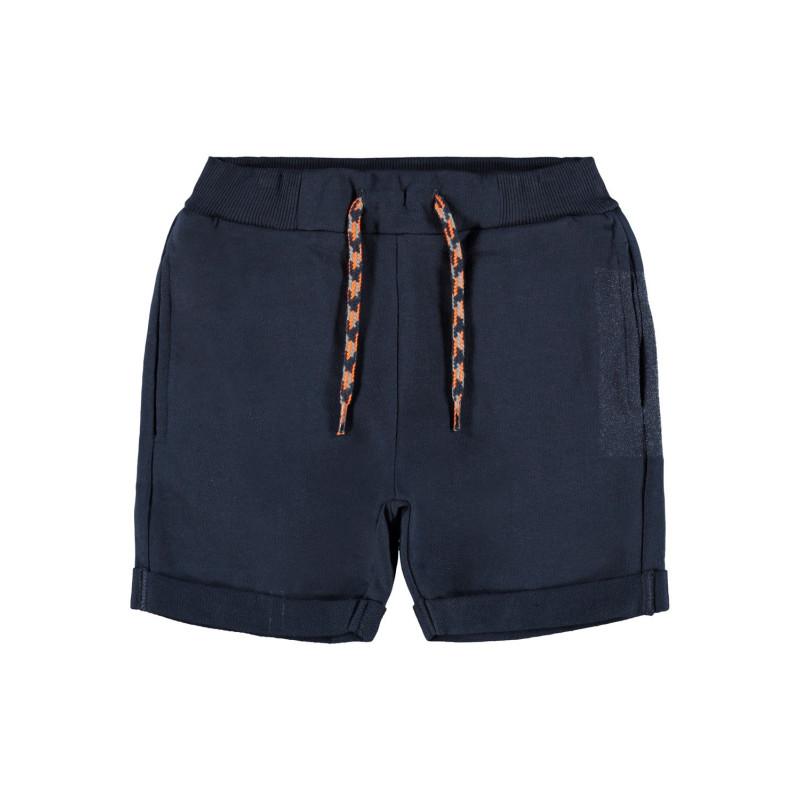 Къси панталони от органичен памук, тъмно сини  244414