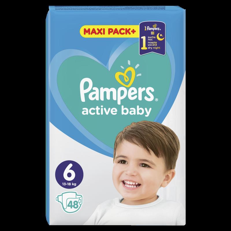 Пелени Active Baby, размер 6, 48 бр.  244499