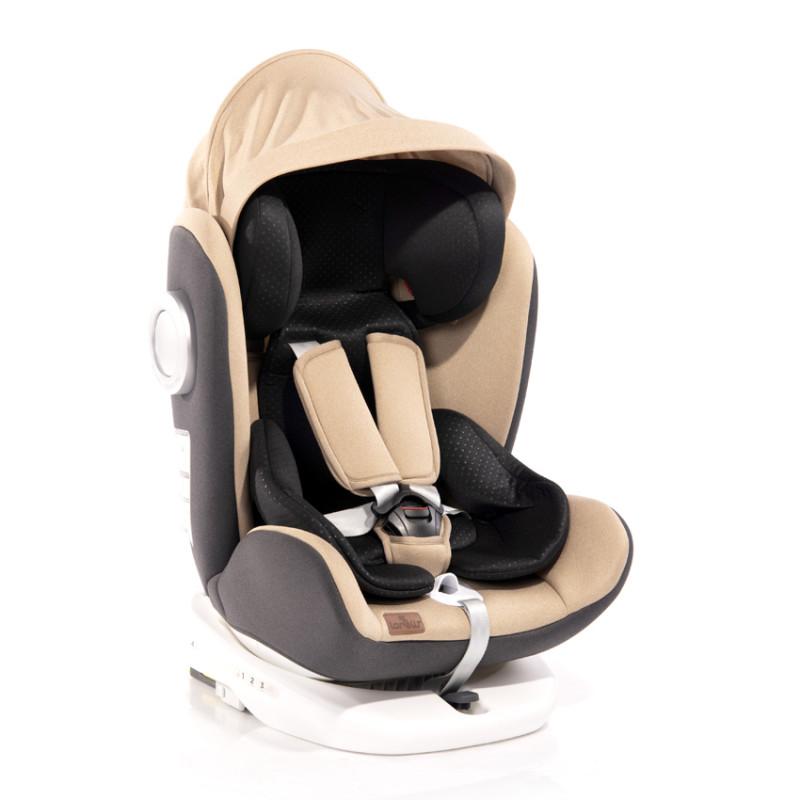 Столче за кола LUSSO SPS ISOFIX 0-36 кг Beige  244585