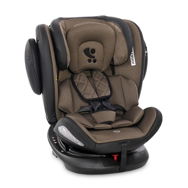 Столче за кола AVIATOR ISOFIX 0-36 кг, кафяв  244589