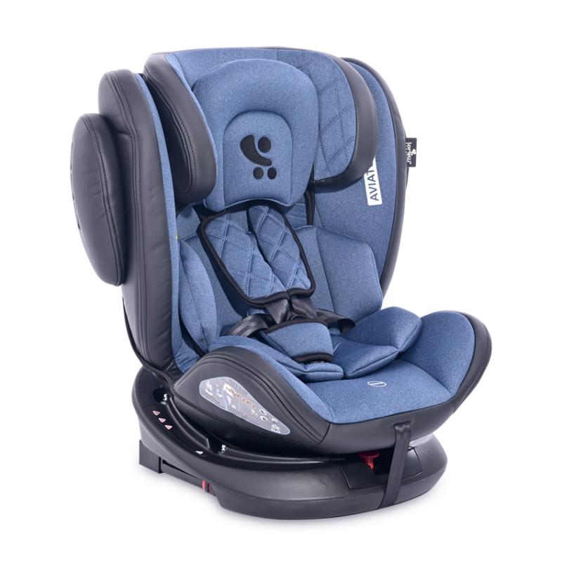 Столче за кола AVIATOR ISOFIX 0-36 кг, син  244591